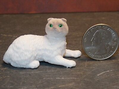 Dollhouse Miniature Pet Cat Persian Animals 1:12 inch scale K76 Dollys Gallery