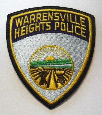 Warrensville Heights Ohio Police Patch Unused