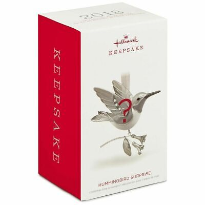 Hallmark 2018 Hummingbird Surprise Unopened Ornament