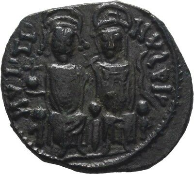 Lanz Byzantine Empire Justin I Sophia Follis Nikomedia Cross Bronze §ask2458
