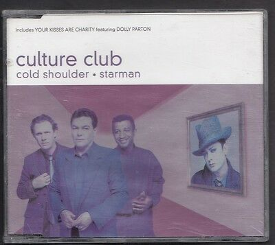 CULTURE CLUB Cold Shoulder Starman Your Kisses Are Charity CD MAXI DOLLY PARTON