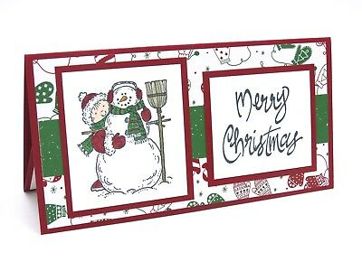 stampin up handmade christmas card money holder check gift card holder - Christmas Card Money Holder