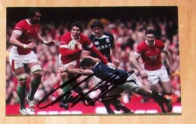 Chris Cusiter Scotland Rugby Personally Hand Signed Autograph Photo