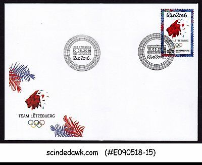 LUXEMBOURG - 2016 31th OLYMPIC GAMES RIO 2016 - FDC