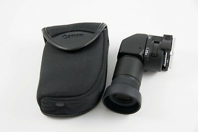 Canon Angle Finder C w/ Ed-C Finder Adapter