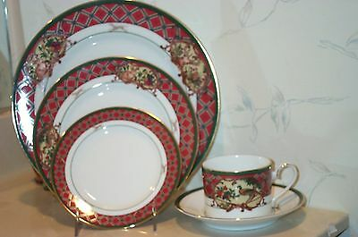 NEW Noritake ROYAL HUNT 5 Piece Place Settings - MULTIPLE AVAIL dogs - BRAND NEW