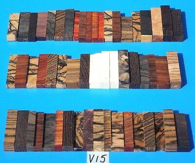 Ebony & More~Jewelry Making~Knife Blank Inlays~Knife Handle Spacer~Exotic Wood