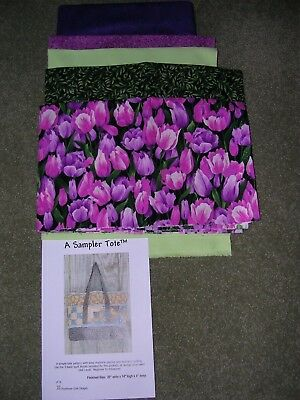 """A Sampler Tote"" by Poorhouse Quilt Designs"