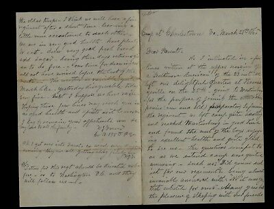 195th Pennsylvania Infantry CIVIL WAR LETTER - Great Content from West Virginia!