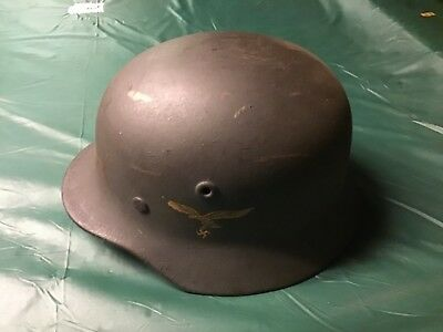 World War II authentic German Helmet brought back from Germany by American offic