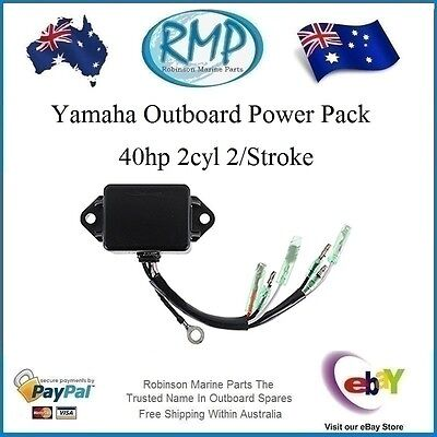 New CDI Unit Suits Yamaha Outboard 40hp 2cyl 2/Stroke # R 6F5-85540-22