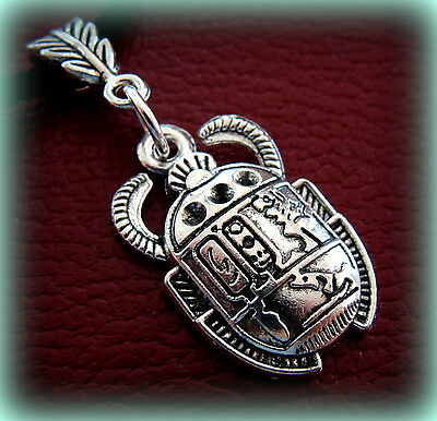 EGYPTIAN SCARAB Pendant Necklace Jewelry ART DECO Antique Vintage look Beetle