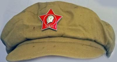 Original Cultural Revolution Red Guards Chairman Mao Cap with Star Badge China