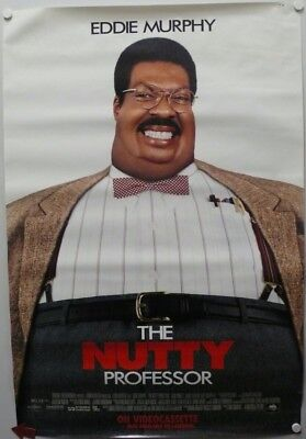 THE NUTTY PROFESSOR Videocassette and Laserdisc movie poster made in 1995
