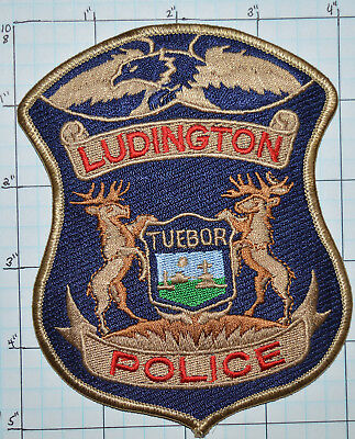 Michigan, Ludington Police Dept Patch