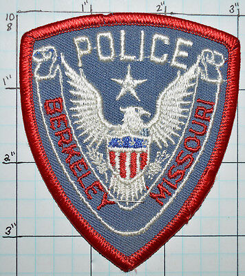 "Missouri, Berkeley Police Dept 3.5"" Patch"