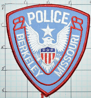 "Missouri, Berkeley Police Dept 4"" Patch"