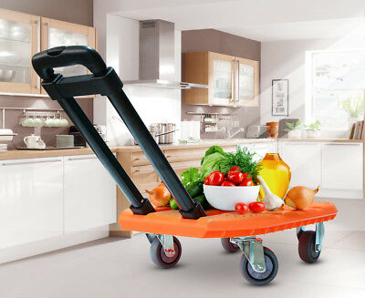 A62 Rugged Aluminium Luggage Trolley Hand Truck Folding Foldable Shopping Cart