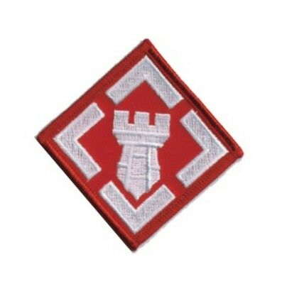MILITARY EMBROIDERED PATCH - ARMY 20th ENGINEER BRIGADE -- IRON-ON -- NEW 3""