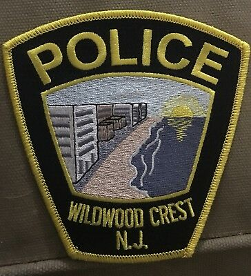 Wildwood New Jersey Police Patch Unused