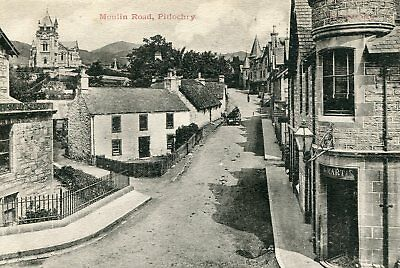 PERTHSHIRE - Moulin Road Pitlochry