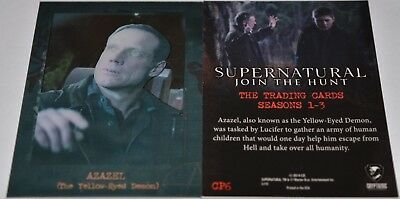 Supernatural Seasons 1-3 Shadowbox Chase Card CP6 Azazel