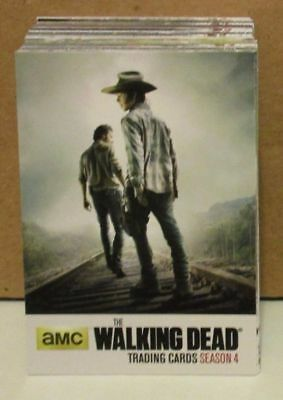 Trading Card Base Set: The Walking Dead Seasons 4 Part 1; 72 Karten