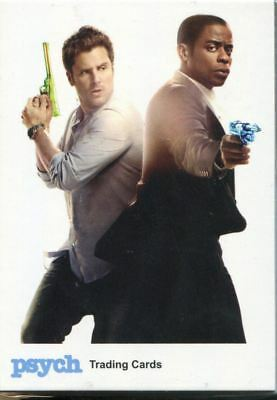 Trading Card Base Set: Psych Seasons 1-4; 68 Karten