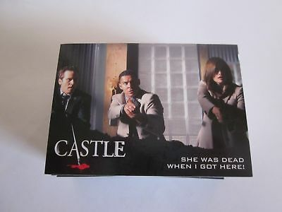 Trading Card Base Set: Castle Seasons 3+4; 72 Karten