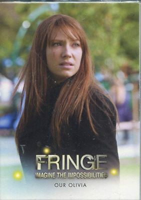 Trading Card Base Set: Fringe Seasons 3+4; 73 Karten