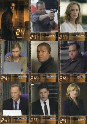 Trading Card Base Set: 24 Season 5; 90 Karten