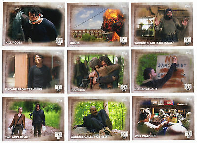 Trading Card Base Set: The Walking Dead Seasons 5; 100 Karten