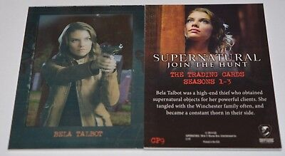 Supernatural Seasons 1-3 Shadowbox Chase Card CP9 Bela Talbot