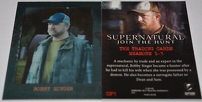 Supernatural Seasons 1-3 Shadowbox Chase Card CP3 Bobby Singer