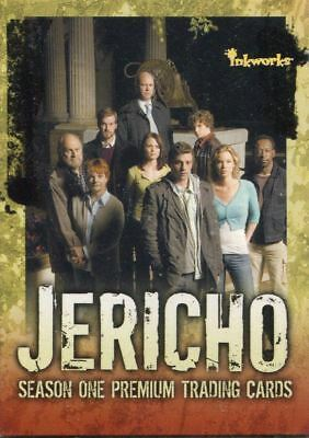 Trading Card Base Set: Jericho Season 1; 72 Karten