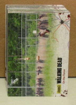 Trading Card Base Set: The Walking Dead Seasons 4 Part 2; 72 Karten
