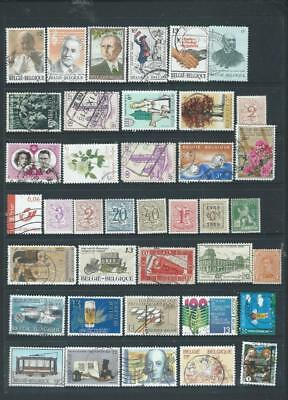 Belgium-lot 4 Selection of mint/used stamps, good range see scan [1064]