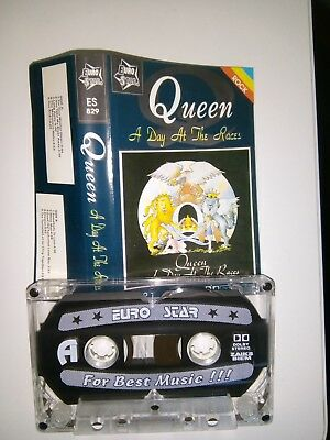 Queen - A Day At The Races - MC - Musikkassette - Tape - Cassette