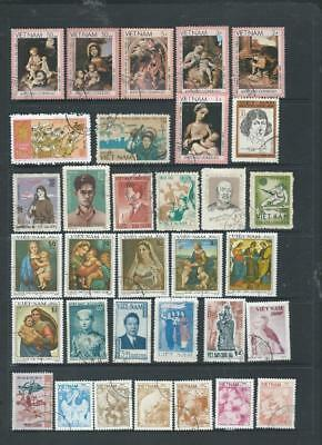 Viet Nam Lot 1 nice selection of commemoratives, as scanned  (1062)