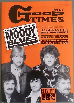 Good Times Musik Magazin (1993/4) # 8 The Moody Blues