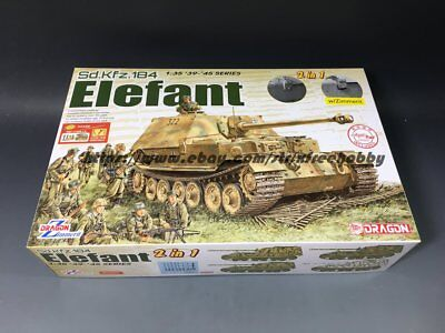 DRAGON 6871 1/35 Sd.Kfz.184 Elefant [Bonus: Magic Track/ Metal Barrel / Figure]