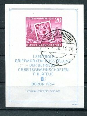 DDR Block 10 gest. Briefmarkenausstellung (#62400)