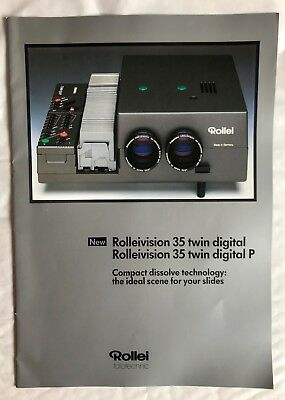 Rollei Rolleivision 35 Twin Projector Product Brochure