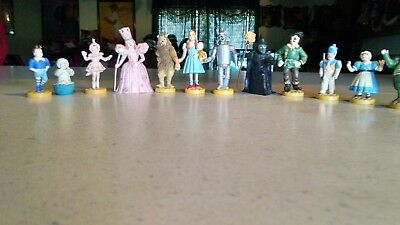 Wizard Of Oz Set of 12 Pvc Figurines By Presents 1989