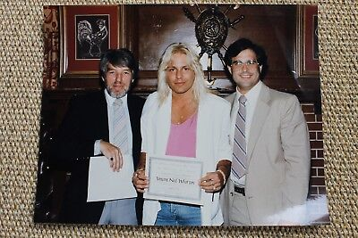 Motley Crue Vince Neil Original 1985 Personal Photograph After Alcohol Program