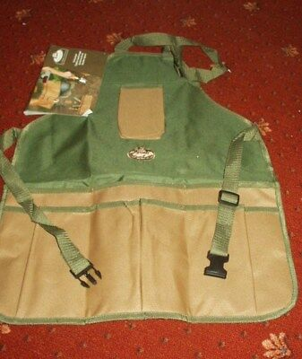 Esschert's Garden Strong Canvas Garden Tool Apron pre- owned