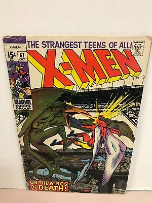 * Marvel Comics X-Men Issue 61 2nd Sauron On The Wings Of Death