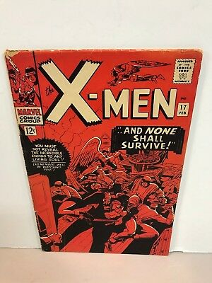 * Marvel Comics X-Men Issue 17 And None Shall Survive