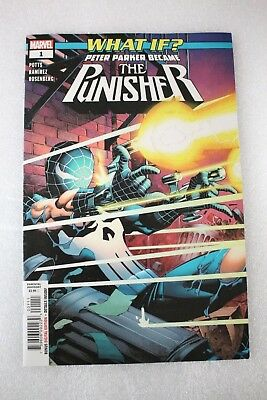 What IF? Peter Parker Became The Punisher #1 First Print 1st Amazing Spider-man