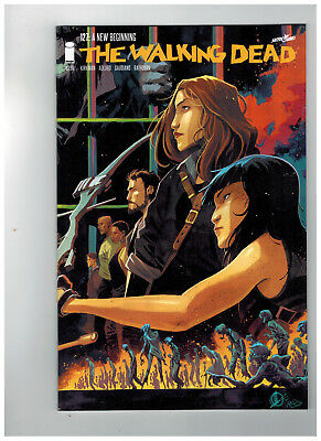 THE WALKING DEAD #127  15th Anniversary - Color Variant      / 2018 Image Comics